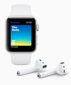 watchOS 5 podcast