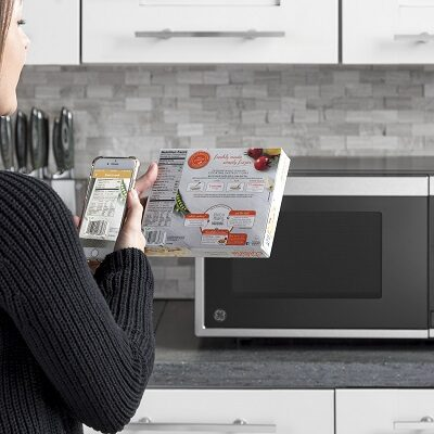 GE Smart Countertop Microwave