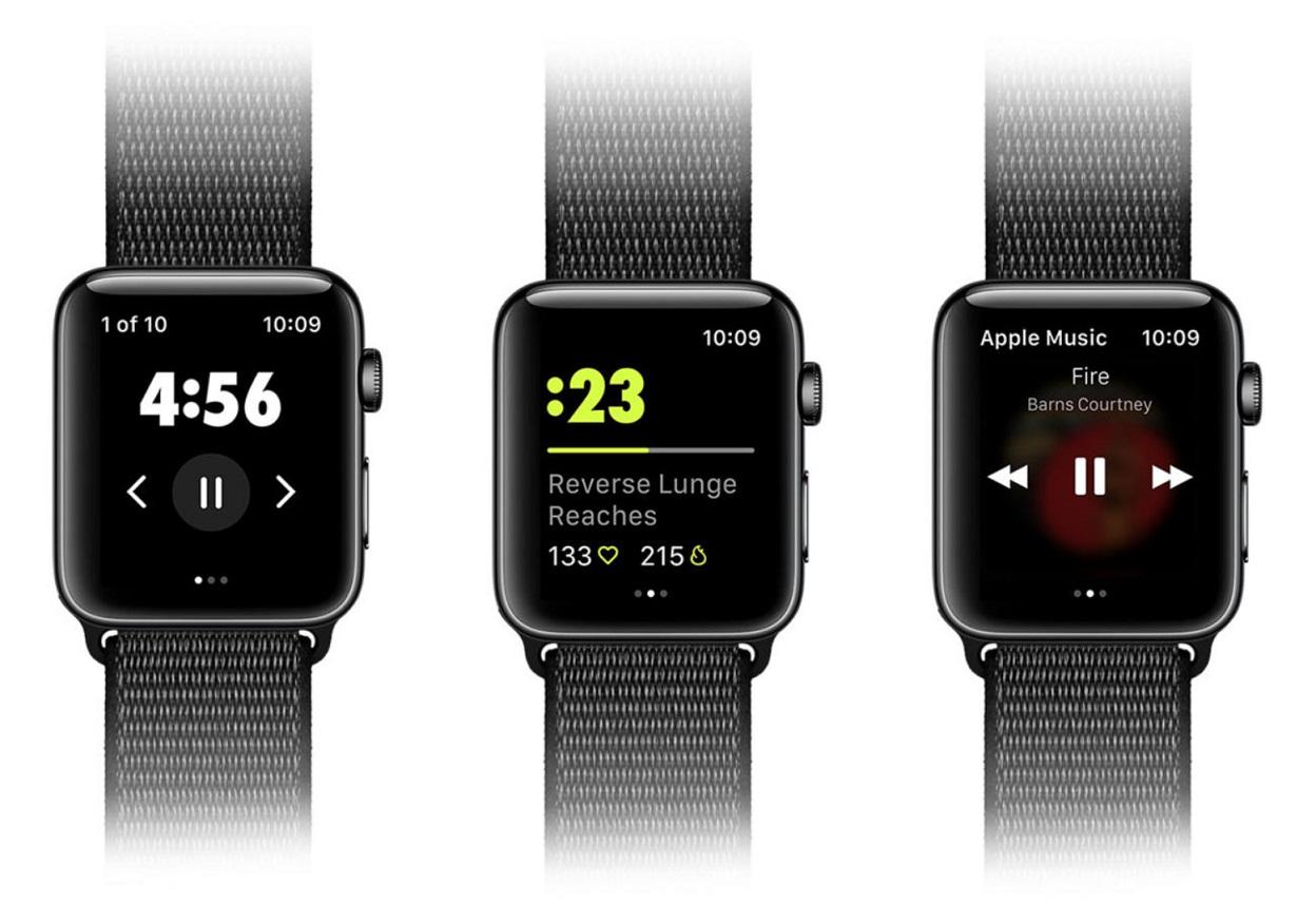 Nike Training Club Apple Watch
