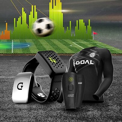 T-Goal tracker dla piłkarza