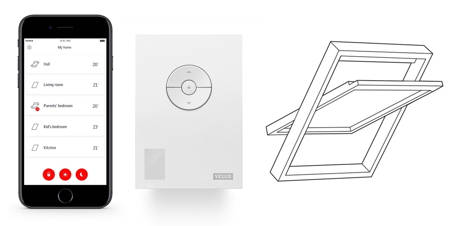 Velux Active Netatmo smart okno