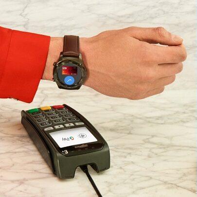płatności zegarkami Wear OS Google Pay