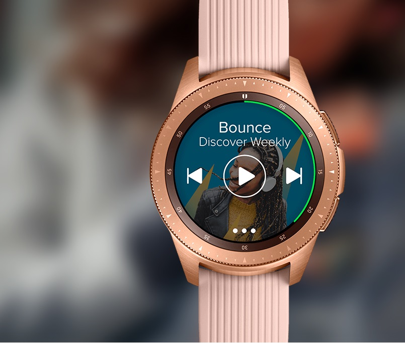 Galaxy Watch muzyka