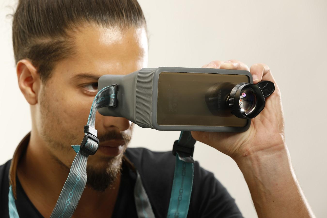 Oko gogle dla fotografa