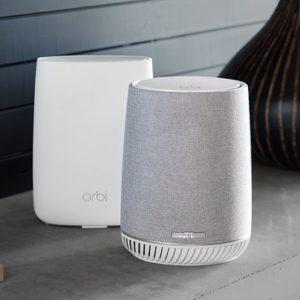 Orbi Voice Smart Speaker i WiFi Mesh Satellite
