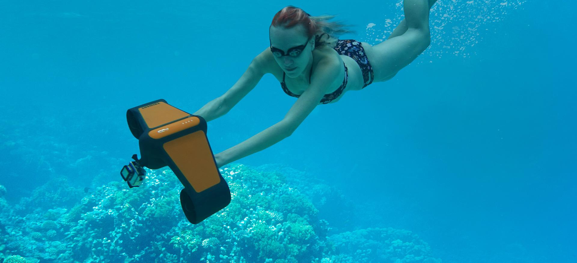 Trident podwodny skuter
