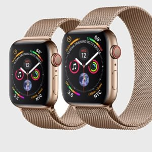 Apple Watch Series 4 Gold Stainless Steel