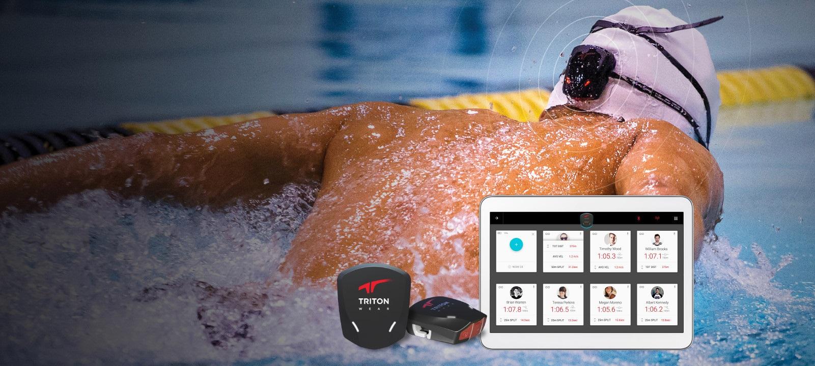 TritonWear tracker do pływania