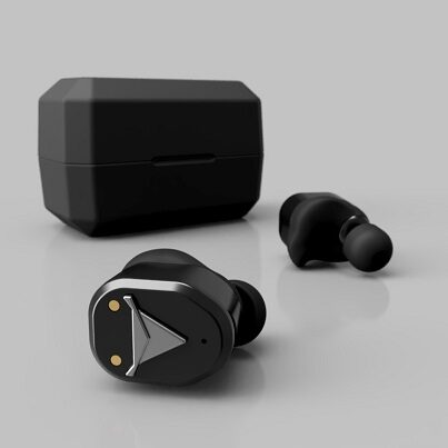Decibullz Black Diamond True Wireless Earbuds