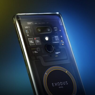 HTC Exodus 1 smartfon blockchain