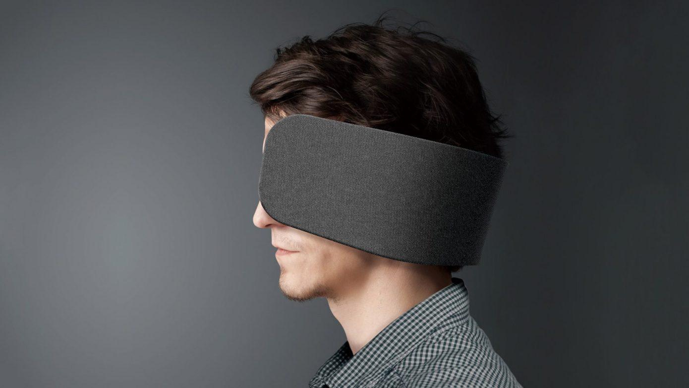 Wear Space klapki na oczy