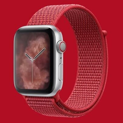 Apple Watch Sport Loop Product Red
