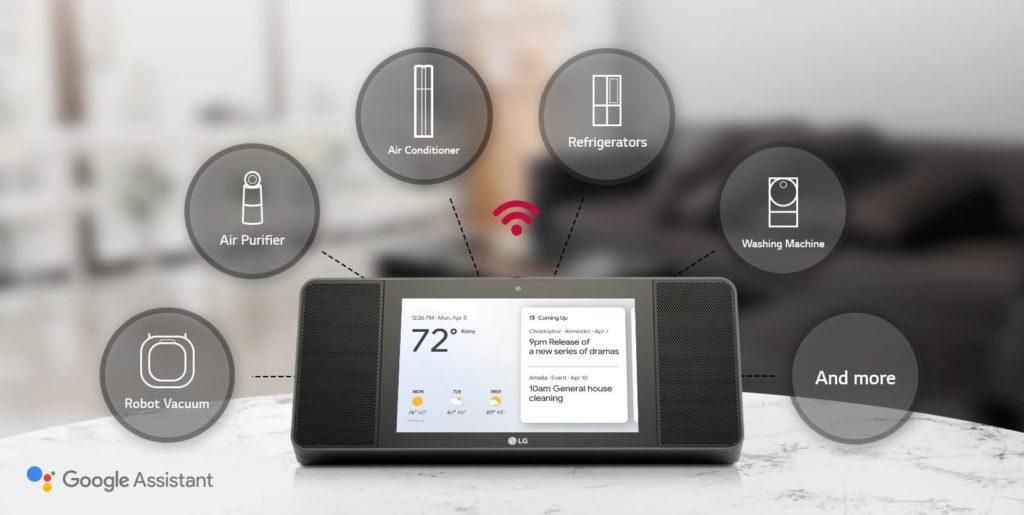 Smart Display LG XBOOM AI ThinQ WK9