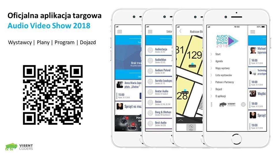 Audio Video Show 2018 aplikacja
