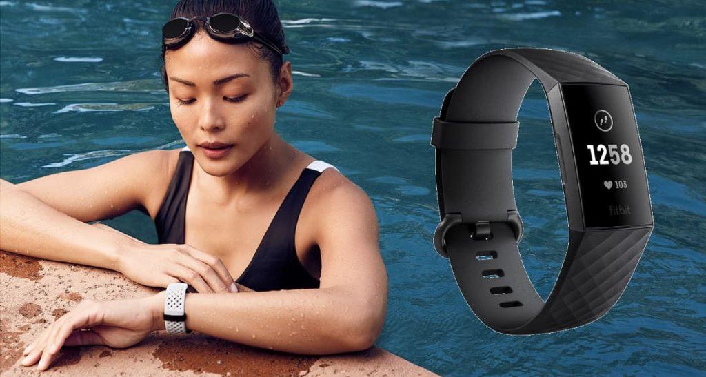 Fitbit Charge 3 pływanie