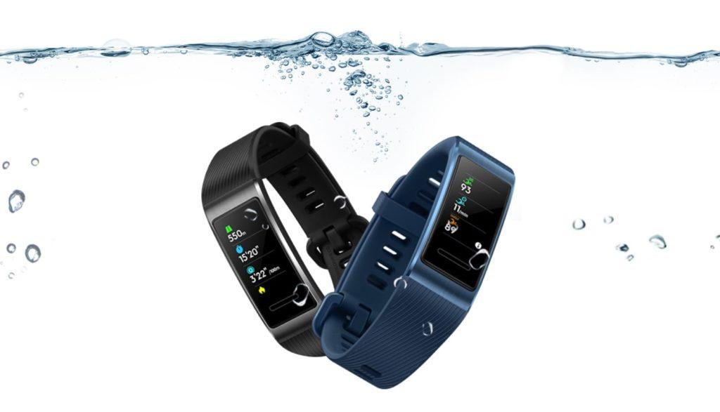 Huawei Band 3 Pro pływanie