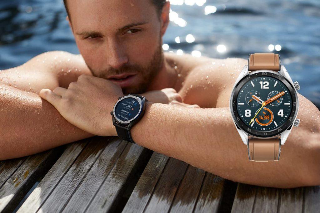 Huawei Watch GT pływanie