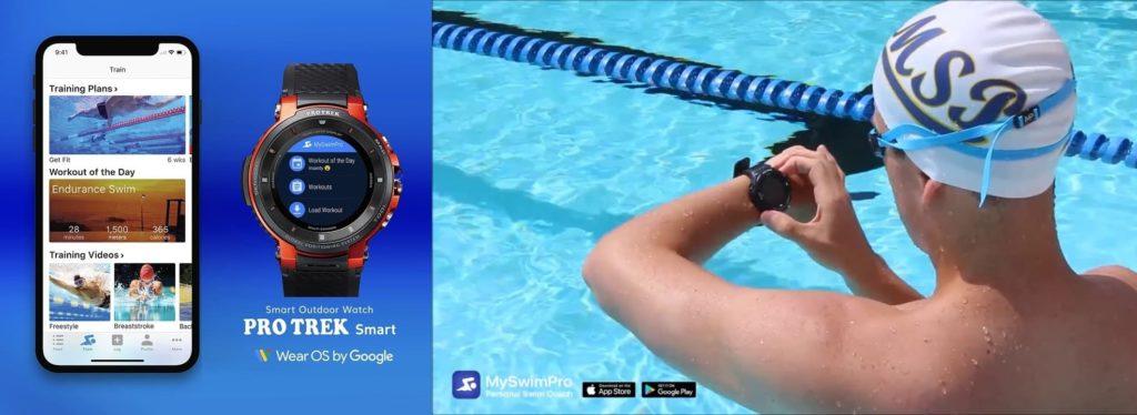 MySwimPro Casio Pro Trek