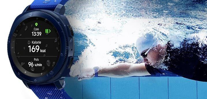 Samsung Gear Sport pływanie
