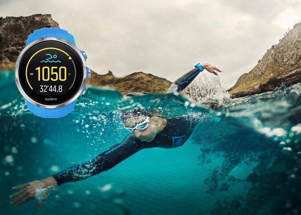 Suunto Spartan Sport pływanie