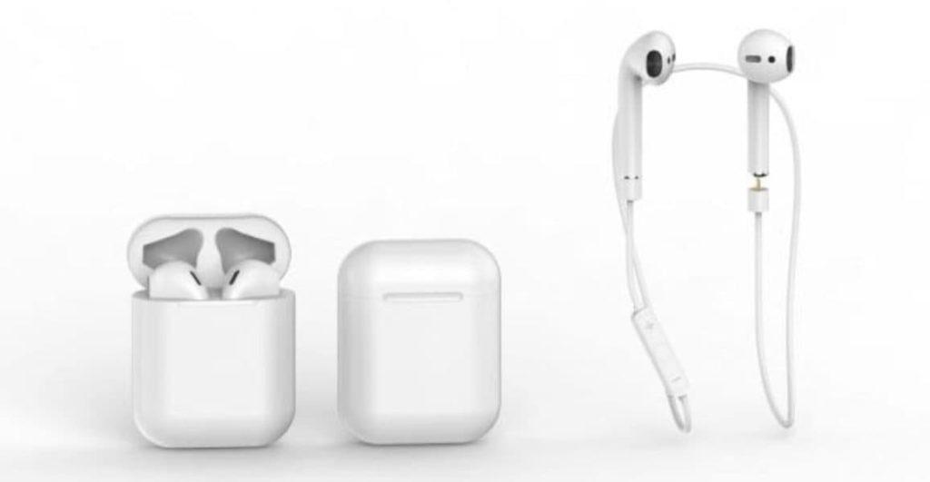 Air.Wear - bank energii w przewodzie dla słuchawek AirPods