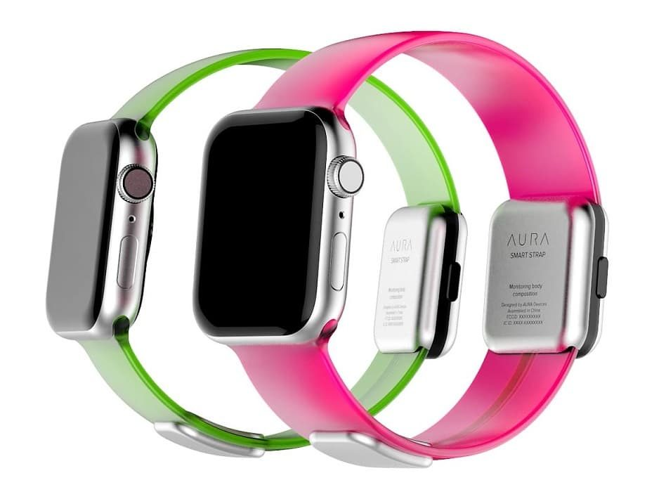 Aura Smart Strap Apple Watch pasek z bioimpedancją