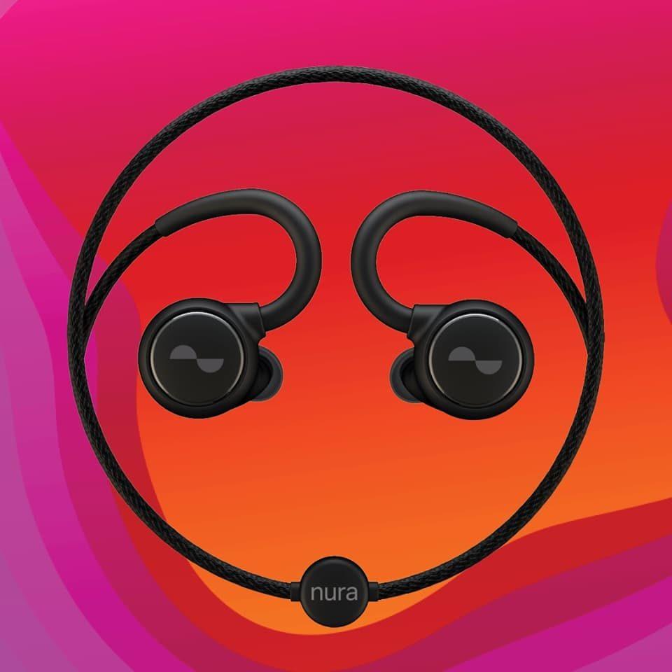 NuraLoop słuchawki z testerem słuchu