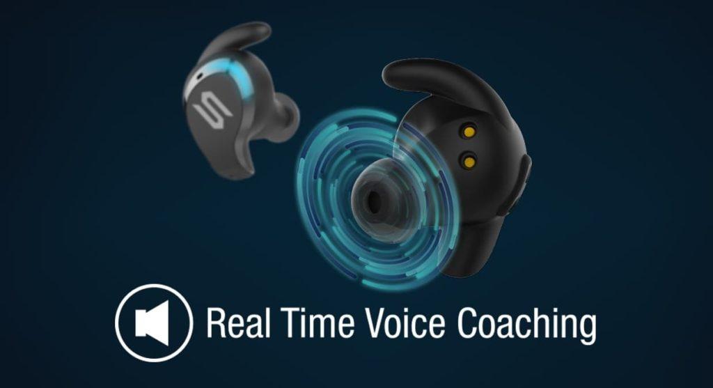 Soul Blade bezprzewodowe słuchawki do biegania z tętnem i czujnikami ruchu