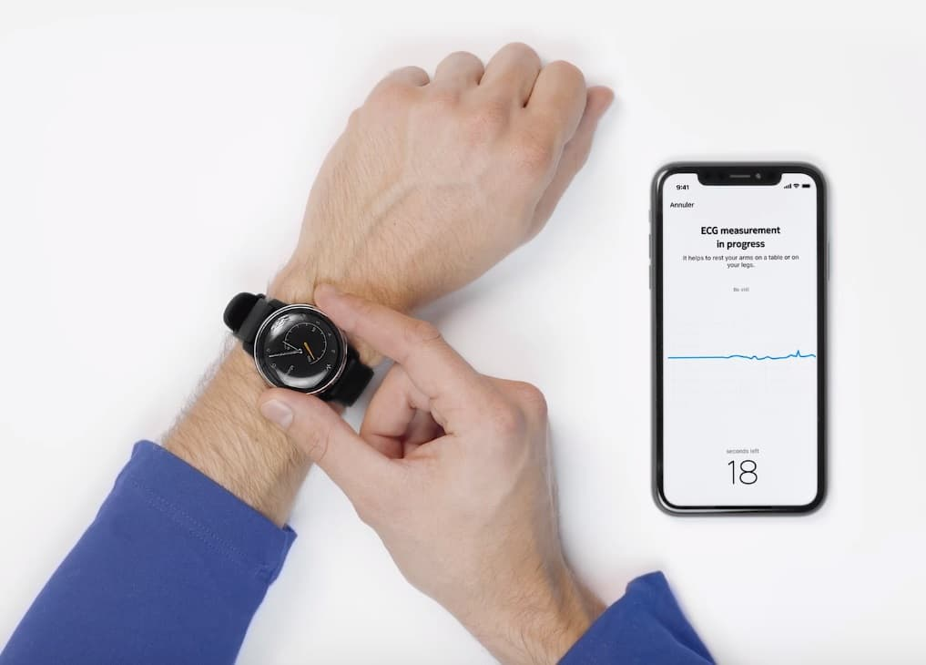 Withings Move EKG smartwatch