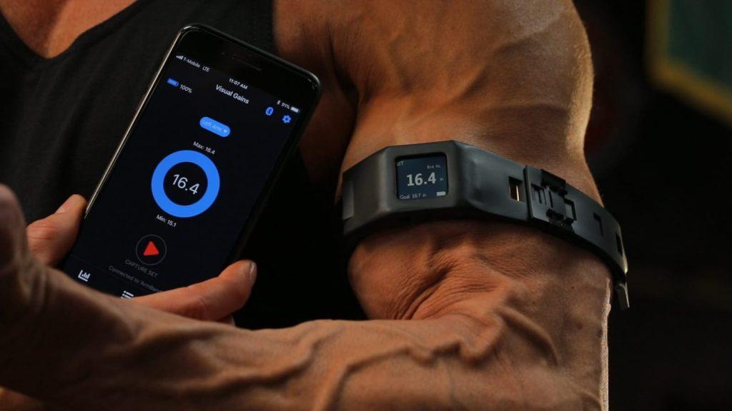 XLFLEX tracker obwodu mięśni