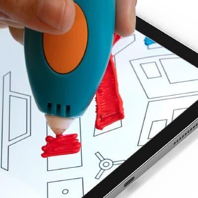 3Doodler App - do druku elementów na ekranie tabletu
