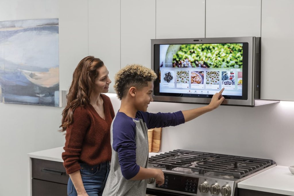 GE Kitchen Hub smart okap