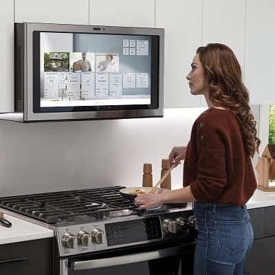 GE Kitchen Hub smart okap