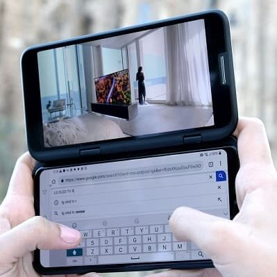 LG Dual Screen - składany smartfon