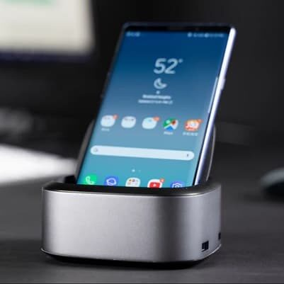 NuDock - smartfon desktopem