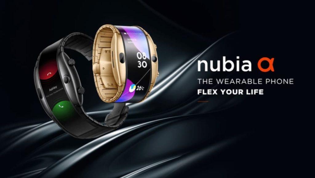 Nubia Alpha - smartfon na nadgarstek