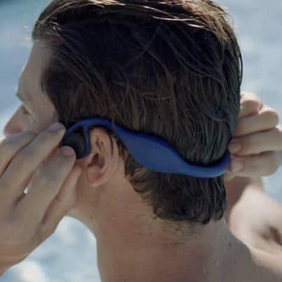 Zygo słuchawki na basen