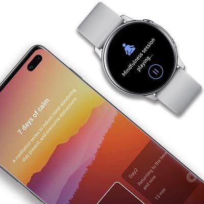 Samsung Health z Calm do relaksacji i medytacji