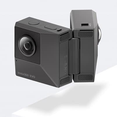 Insta360 Evo - składana kamerka sferyczna i 3D