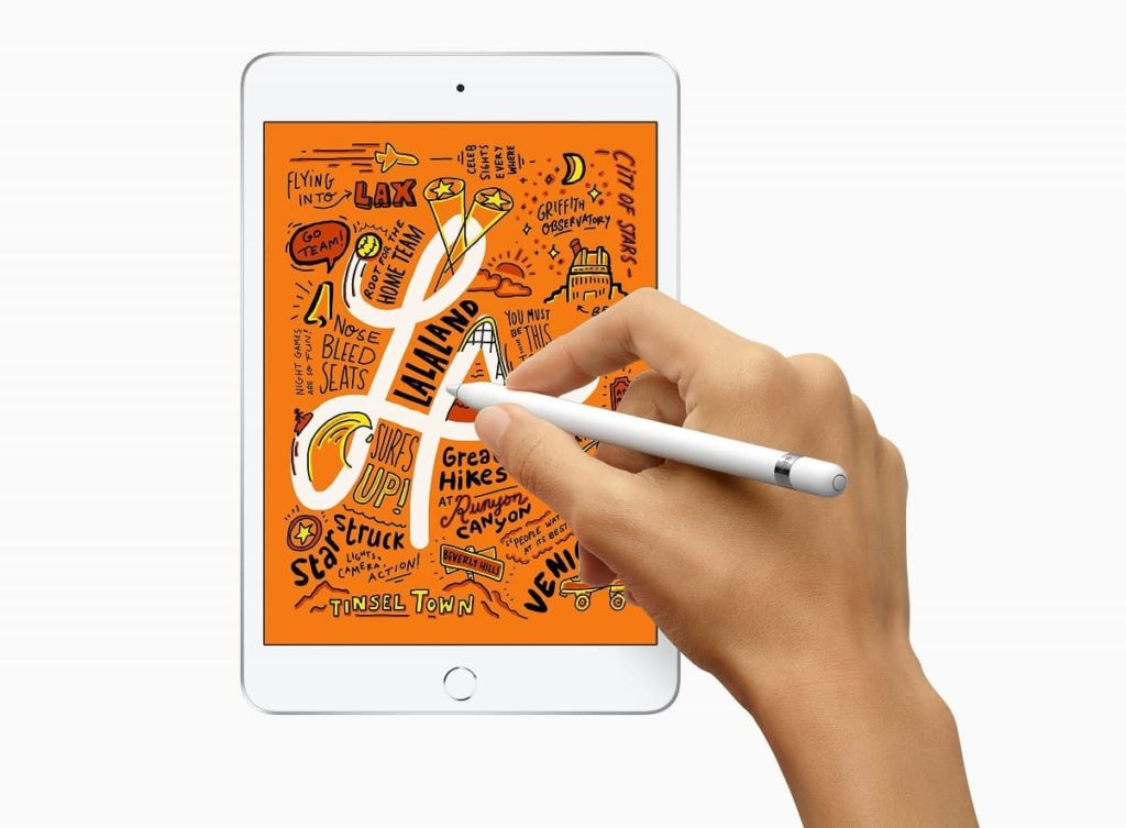 iPad mini 5 z rysikiem Pencil