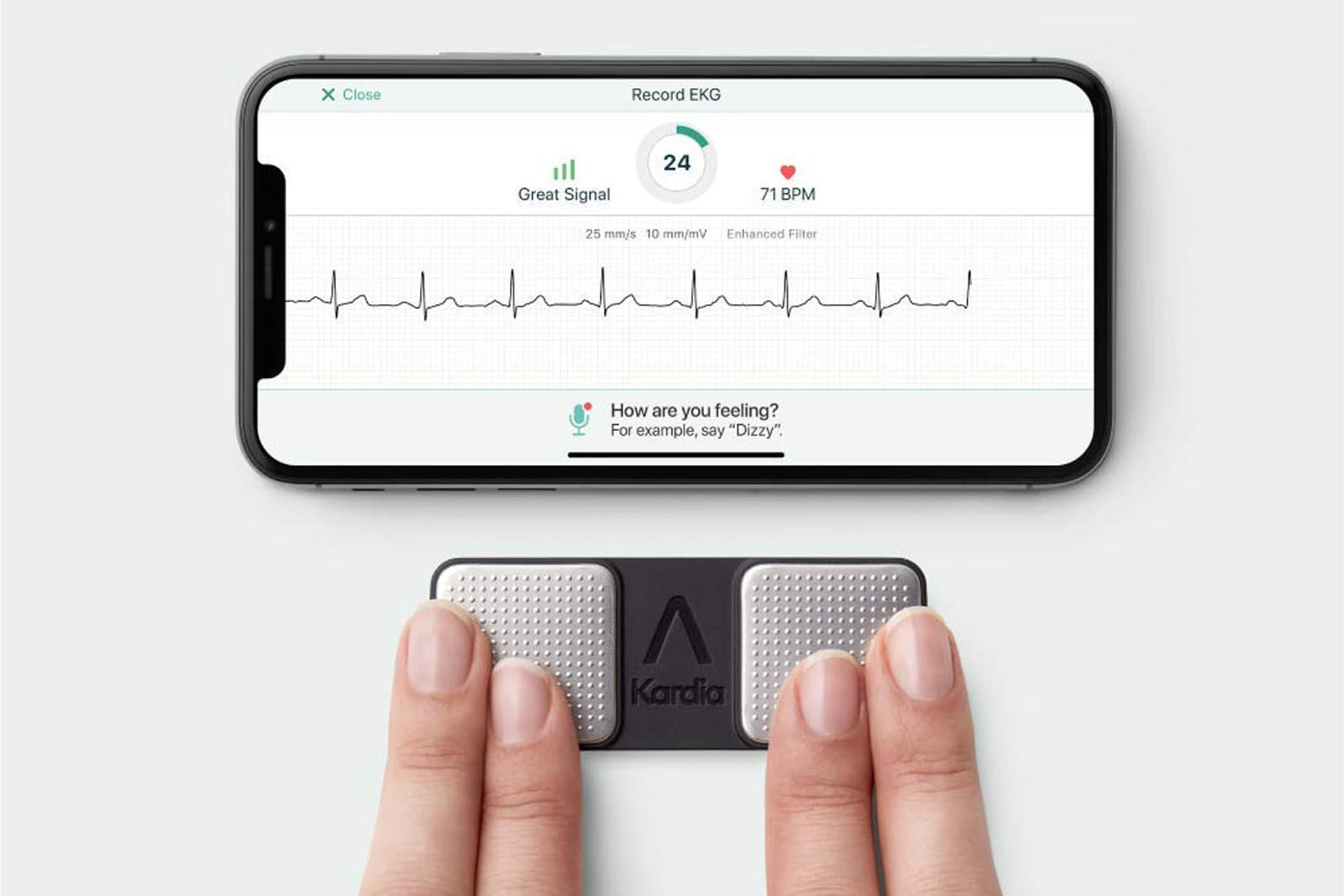 AliveCor Kardia Mobile EKG Monitor