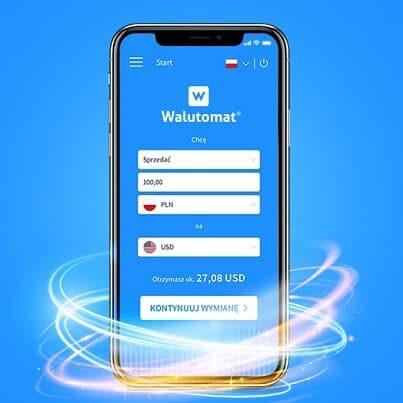 Aplikacja Walutomat iOS Android
