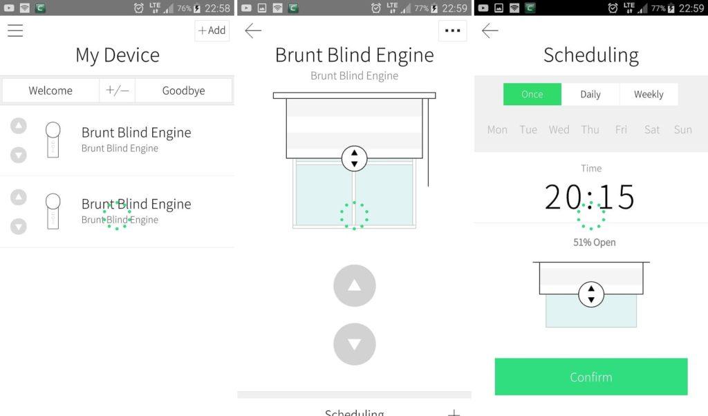 Brunt Blind Engine aplikacja