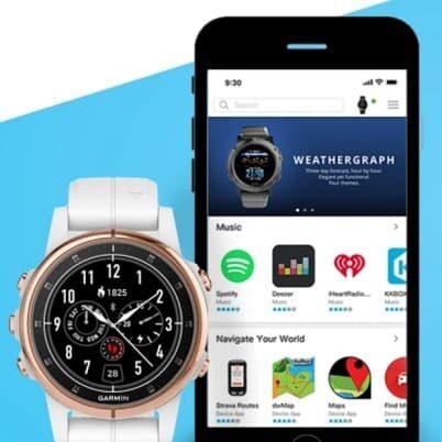 Nowy sklepik Connect IQ Store dla zegarków Garmin