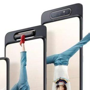 Samsung Galaxy A80 z trio obrotowych kamerek