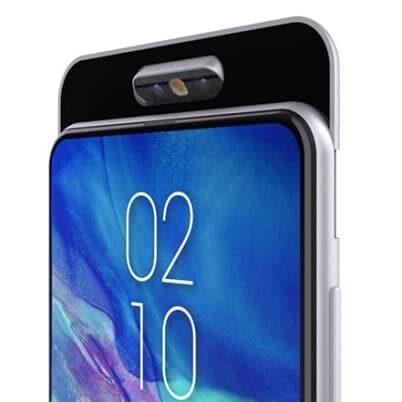 Samsung Galaxy A90 z obrotowymi aparatami