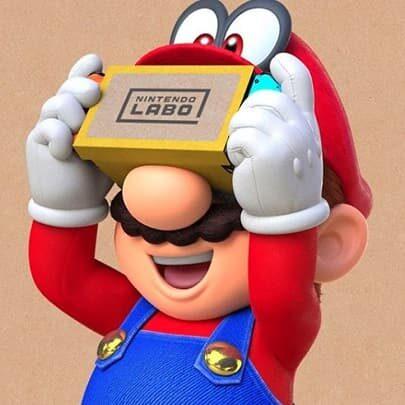 Super Mario Odyssey VR Nintendo Switch