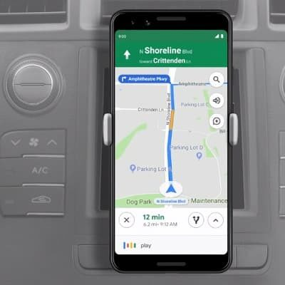 Asystent Google Tryb Samochodowy