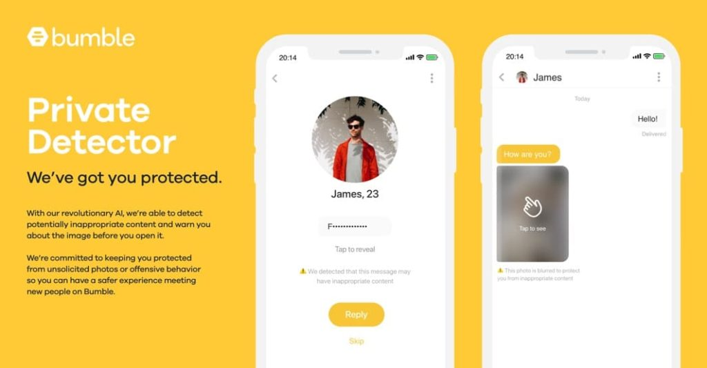 Bumble private mode