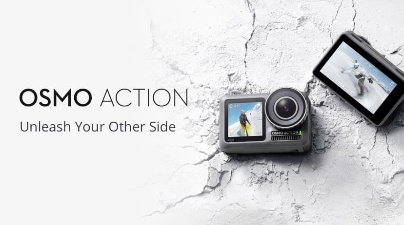 DJI Osmo Action - rywal dla GoPro